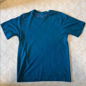 Blue Lululemon Shirt - mens medium